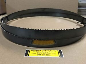 138 11 6 X 1 X 035 X 14t Carbon Band Saw Blade Disston Usa
