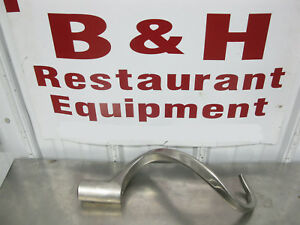 Hobart Oem Stainless Steel 30 40 Qt Mixer Ed Dough Hook D30edst Never Used