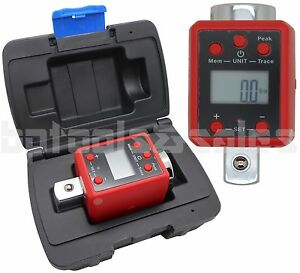 3 4 Dr Digital Torque Wrench Adaptor Micro Meter Ft Lb Led 738 F Lb Microtorque