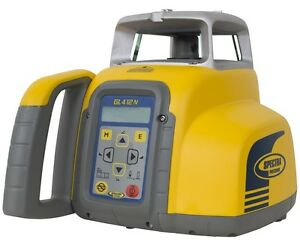 Spectra Gl412n Self leveling Single slope Laser Level Kit W hl760 Receiver