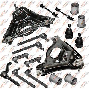 New Front End Rebuild Steering Kit Tie Rods Linkages For 96 91 Buick Roadmaster