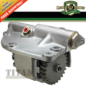 D2nn600b Ford Tractor Hydraulic Pump With Dual Power 5000 5100 5200 7000 7200
