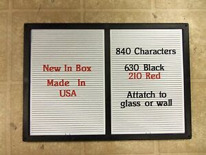 New Changeable Letter Message Menu Board Price Sign 14 X 20 840 Characters