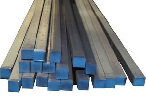 1 2 Hot Rolled Mild Steel Square Rod Bar A36 Prime New 60 Long 4 Pieces