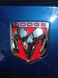 Dodge Ram 1500 Grill And Tailgate Emblem Decal 2009 2010 Only