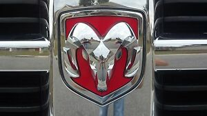 Dodge Ram 1500 Grill And Tailgate Emblem Decal 2011 2012 Only
