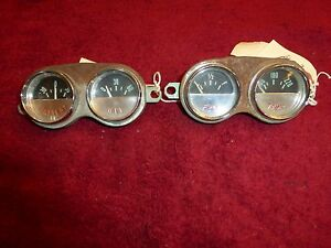 Corvette C1 1959 62 Gauges Both Sets