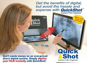 Quickshot Qs 320 Instant X ray Film Digitizer New