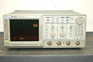 Tektronix Tds 544a Color 4 channel Digitizing Oscilloscope 500 Mhz 1 Gs s
