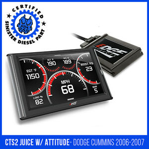 Edge Cts2 Juice With Attitude For 2006 2007 Dodge Cummins 5 9l