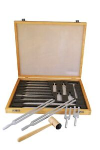 Tuning Fork Set Of 13 With Mallet So040 0013
