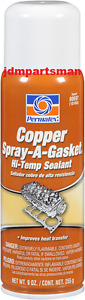 Permatex Copper Spray A Gasket 9 Oz Hi Temp Sealant 80697