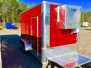 New Refrigerator Freezer Cooler Mobile Trailer For Meat Florist Produce