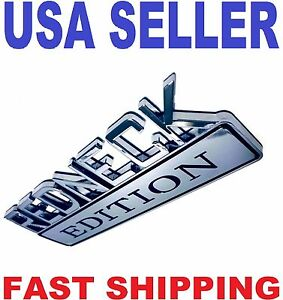 Redneck Edition Truck Emblem Logo Decal Sign Car Chrome Ornament Badge New