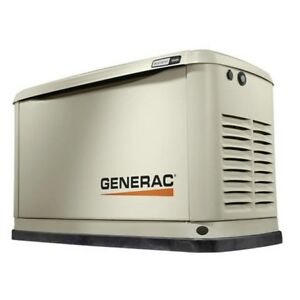 Generac 7035 Guardian Series 16kw Generator Alum Enclosure Natural Gas Propane