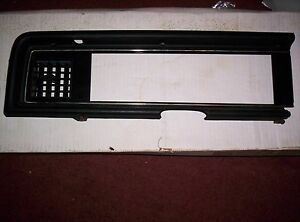 1983 84 Ford Thunderbird Mercury Cougar Dash Trim