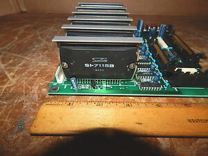 Sanken Si 7115b Stepper Motor Drive driver Ic Lot Of Six W Heat Sink Attached
