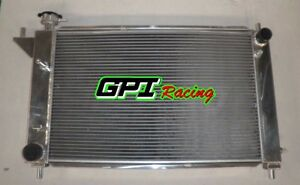 3 Row Aluminum Radiator For 1994 1995 Ford Mustang Gt Gts Svt 3 8l 5 0l Manual