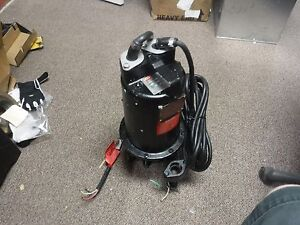 New Submersible Sewage Pump 1 2hp 230v 1ph 6 2a Tether Switch 2 Npt t