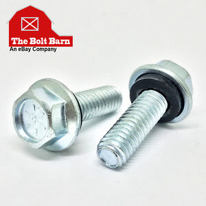 1400 5 16 18x1 1 4 Grade 8 Flange Grain Bin Steel Building Bolts Rubber Washer
