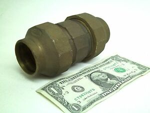 New Nibco 1 1 2 Inch Bronze Brass Flared Flare Union Fitting Coupling Kb