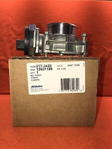 Acdelco 217 3428 Fuel Injection Throttle Body Assembly Gm Original Equipment