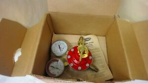 Smiths H1622a 510 Regulator Pressure Gauge 400 Psi Max Inlet