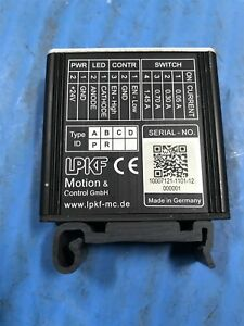 Used Lpkf Motion Control Led pd0403 r Current Controller t5