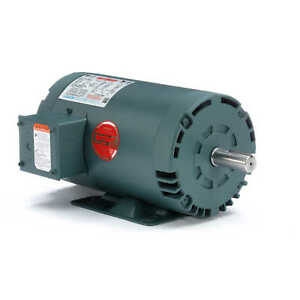 Leeson Electric Motor 121005 00 2 Hp 1745 Rpm 3ph 230 460 Volt 145t Frame