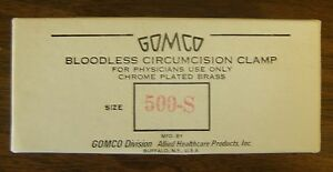 Allied Healthcare Gomco 500 s Circumsion Clamp Extra Small weck 742100