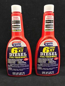 Set Of 2 Genuine Cyclo 6xt Diesel Fuel Treatment And Injector Cleaner C 260