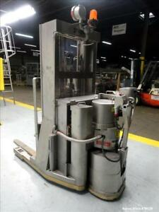 Used American Specialty Equipment Xp 304 Stainless Steel Walk Behind Fork Lift
