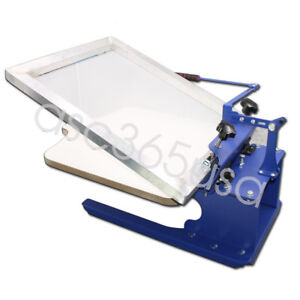 1 Color Screen Printing Press Simple Table Printer Cheaper Household Equipment