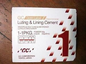 Gc Fuji I 1 Powder Liquid Luting Cement Large Pack Expiry October 2020