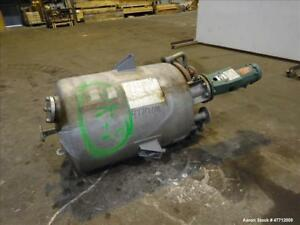 Used Steel pro Incorporated Pressure Tank 100 Gallon 316l Stainless Steel Ve