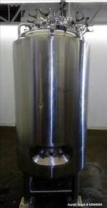 Used Dci Reactor 750 Liter 198 Gallon 316l Stainless Steel Vertical 33 D