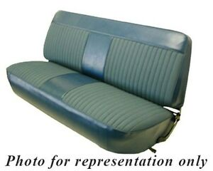 1973 79 Ford Truck Front Bench Seat Upholstery Vinyl Encore Velour