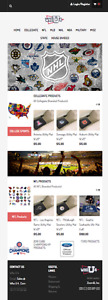 Licensed Sports Products Ecommerce Business For Sale