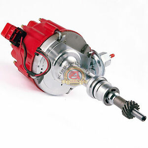 Sbf Ford Small Block 260 289 302 Hei Ignition Red Cap Distributor W 65k Coil