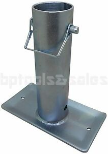 Rv Trailer Canopy 7 1 2 Tongue Jack Foot Stand Foot 2 000ibs Zinc Plated H D