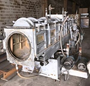 Used Plastic Extruder 14 Foot Vacuum Tank By Gatto
