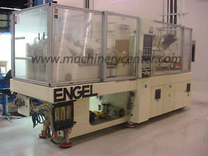 60 Ton 1 2 Oz Engel Electric tiebarless Injection Molding Machine 03
