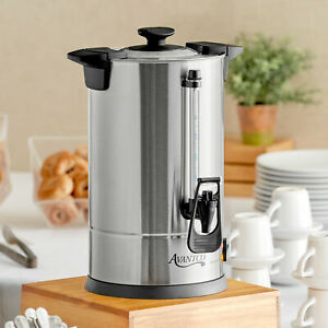 45 Cup 120 Volt Electric Commercial Stainless Steel Coffee Percolator Urn Brewer