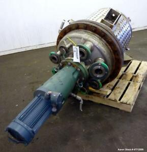 Used Notch Mechanical Reactor 85 Gallon 316 Stainless Steel Vertical 28 Di
