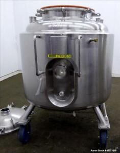 Used Precision Stainless Reactor 400 Liter 105 Gallon 316l Stainless Steel
