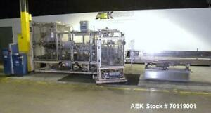 Used Yeaman Machine Vcm 1000 Vertical Cartoner With 6 Head Volumetric Cup Fille