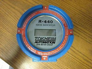 Tokheim Efm Meter Group R 440 Digital Flow Meter Rate Indicator