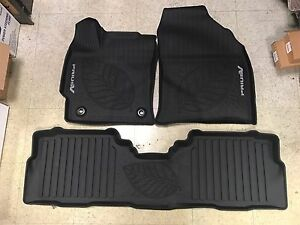 2017 Toyota Prius V 3pc Oem All Weather Floor Liners Mats Pt908 47170 02