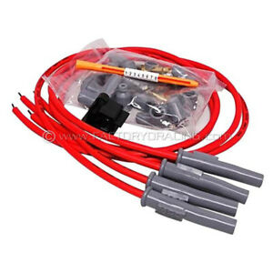 Msd Super Conductor Spark Plug Wire Set Fits 4 Cylinder Motorcycle 31449