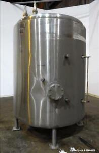 Used Lee Industries Reactor 1000 Gallon Model 1000u 304 Stainless Steel Ver
